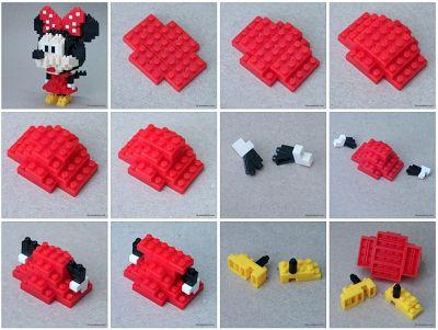 cris nanoblock mickey   nanoblock Minnie Mouse Build Instructions