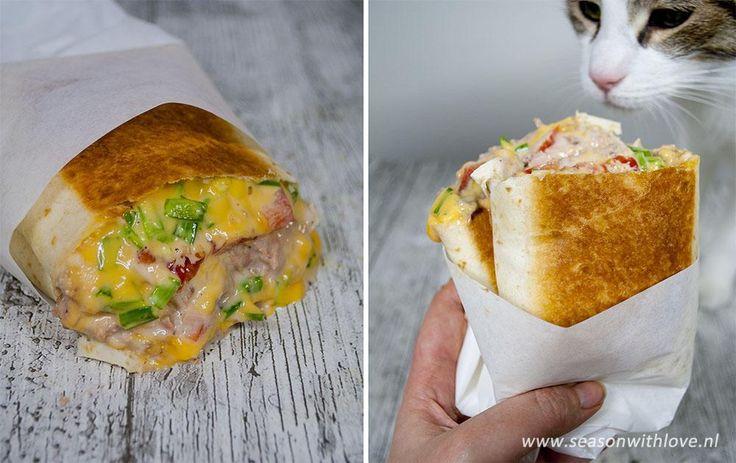 Dit heerlijke tuna melt recept is onwijs simpel. Ik maak dit met een wrap in plaats van brood, genieten!