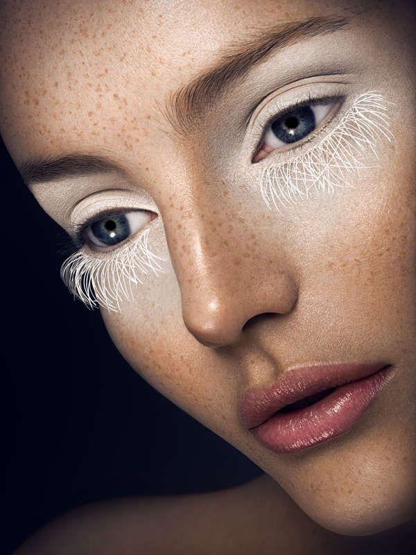 Monochromatic Makeup Portraits : Vanessa Cruz by Yulia Gorbachenko