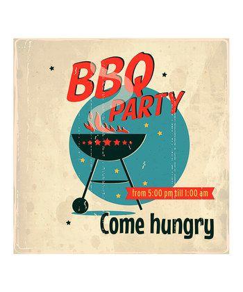 Best Affiches Publicités BBQ Images On Pinterest Vintage - Backyard bbq party cartoon