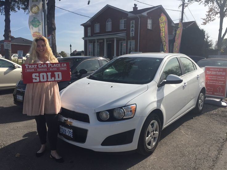 Congrats to Jeff and Kathleen Lewis...hot new Chevy SONIC. Thanks for choosing THAT CAR PLACE!