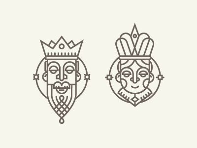 King&Queen by Andrei Bacter