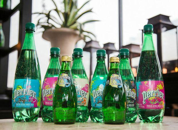 07 Perrier 150 aniversario La botella de Perrier luce su lado más pop en su 150 aniversario