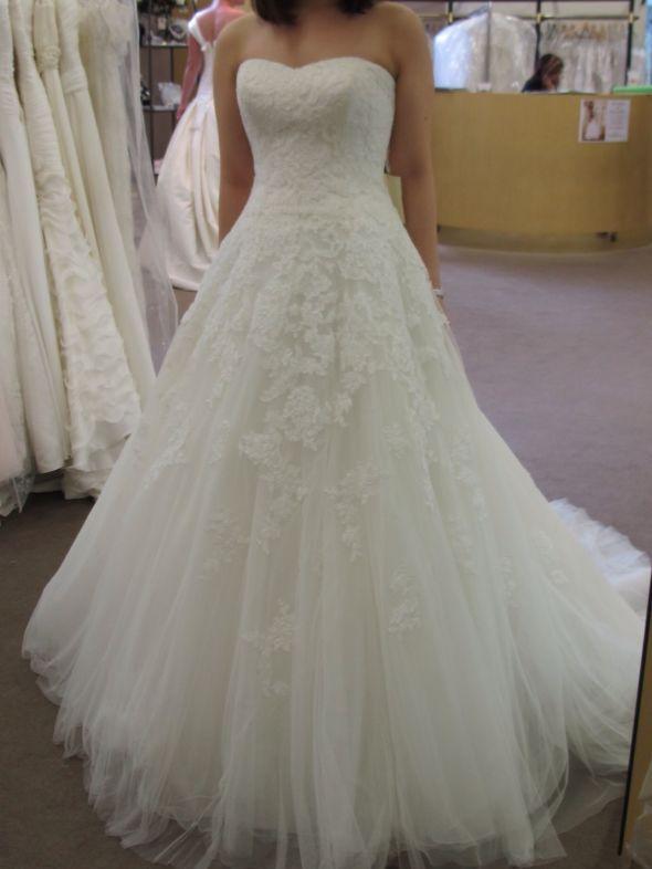 En iyi 17 görüntü, ♥ Pronovias Alcanar lace Wedding dress ...