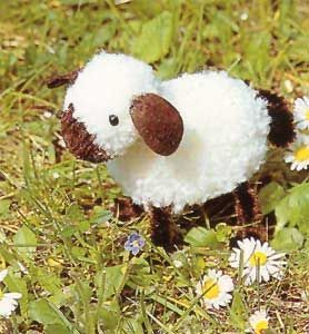 Pomponschäfchen-german site pom pom sheep