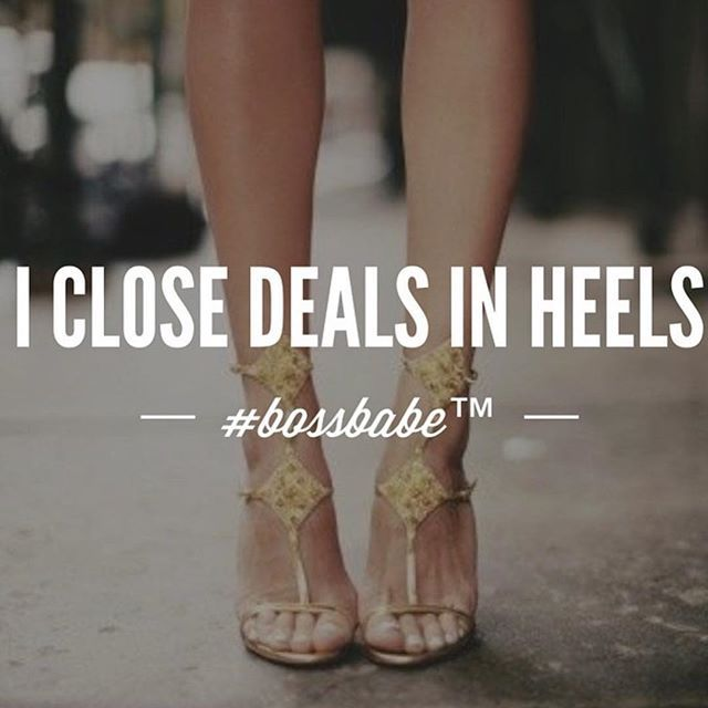 Who is ready to close deals today? #Friday Join the #Bossbabe Netwerk (Click The Link In Our Profile Now! ) Follow @bossbabealex & @millennialrichgirl  now for more inspo!