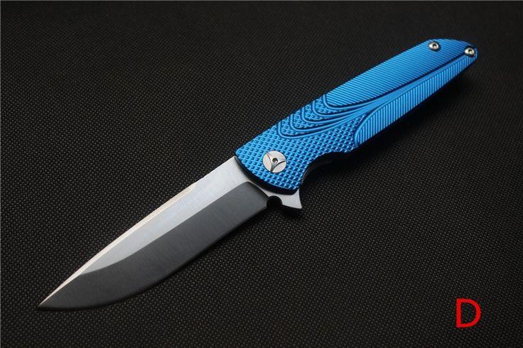 Брайан Nadeau Flipper Подшипника Складной Нож D2 Лезвие, ALU ЛИСТ Ручка, Отдых На Природе Охота Выживания Ножи Открытый EDC инструменты купить на AliExpress