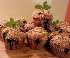 Przepis Muffiny kukurydziane z borówkami przez Meg - Widok przepisu Słodkie wypieki