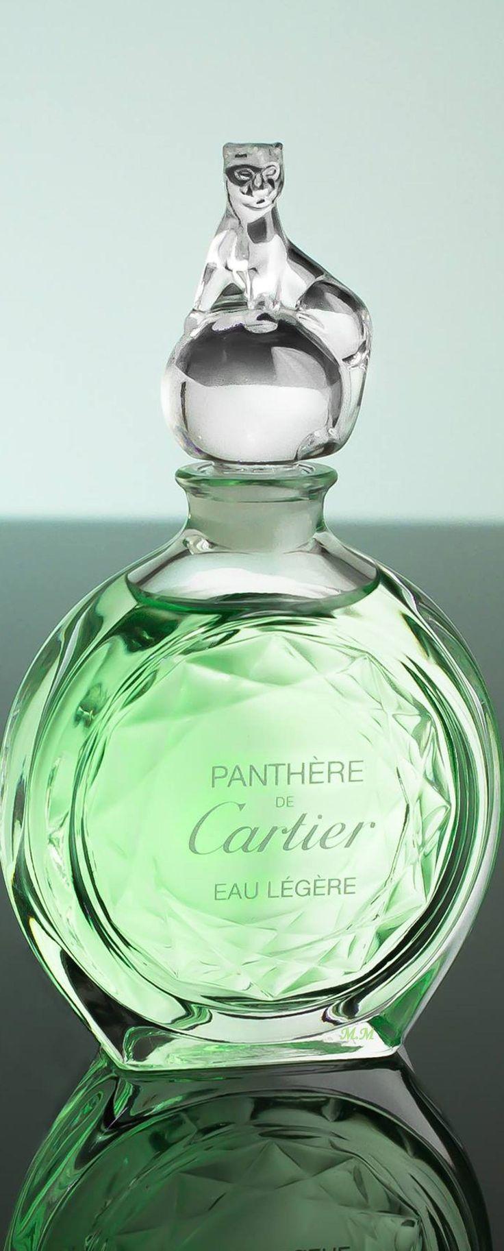 Panthère de Cartier, bouchon en forme de panthère, parfum femme