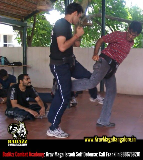 Photos: 15 Sept BadAzz Combat Academy's Krav Maga Israeli Self Defense Bangalore