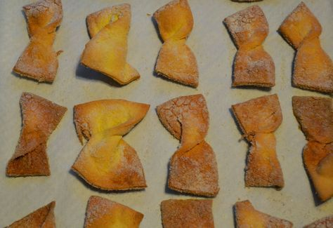Egg Kichel          Recipe, thanks to  Inside the Jewish Bakery  by Ginsberg and Berg.       Kichel  (Bow Tie cookies) often tastes...