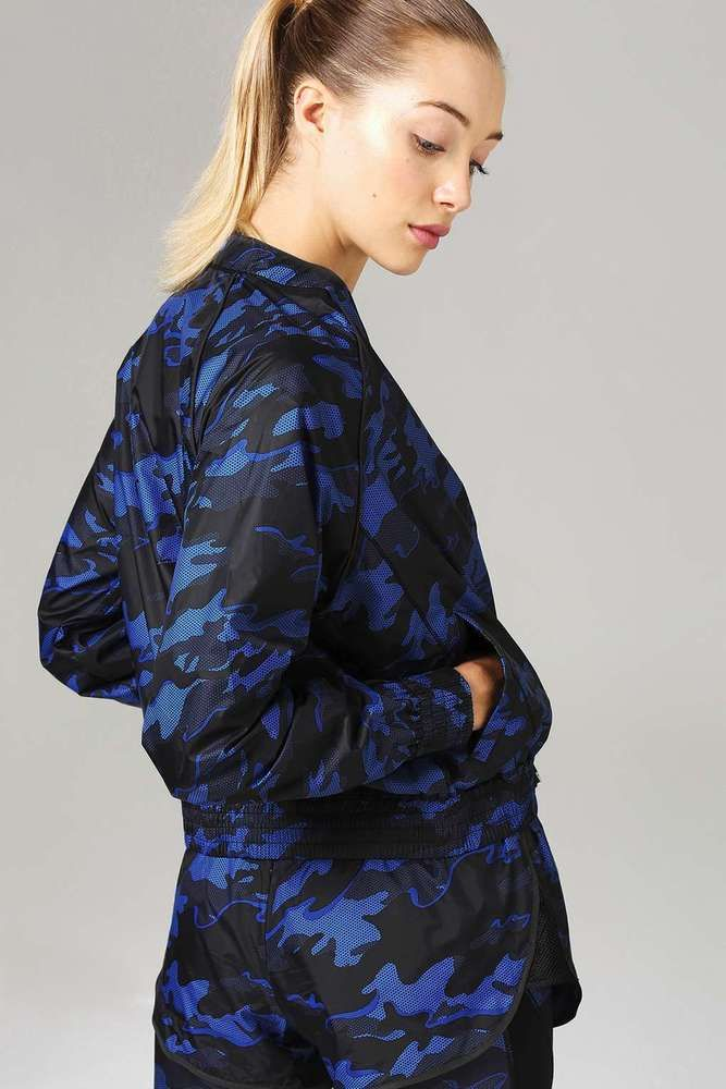 NEW SIZE 10 BEYONCE IVY PARK NAVY BLUE CAMO BOMBER JACKET LIMITED EDITION 2017  #IvyPark #Bomber #Casual