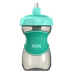 NUK Everlast Straw Sippy Cup - Green