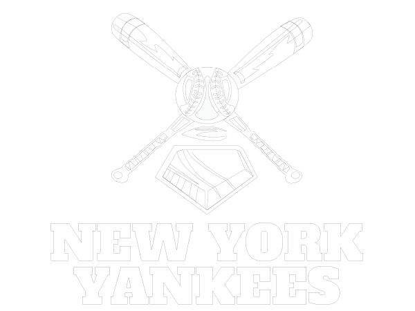 Printable New York Yankees Coloring Sheet With Images Coloring Sheets Coloring Pages Baseball Coloring Pages
