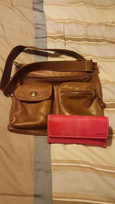 My favs ❤  Tribe satchel and tribe fushia wallet