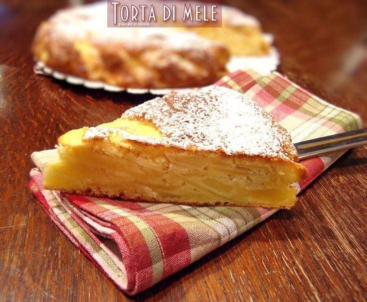 Torta di mele delle sorelle Simili http://blog.giallozafferano.it/graficareincucina/torta-mele-delle-sorelle-simili/
