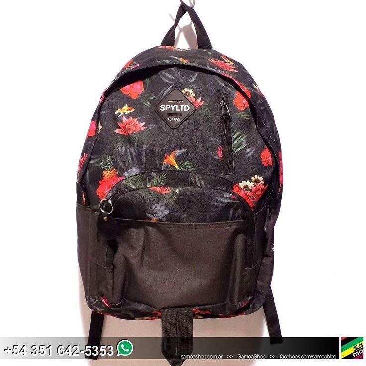 #New #InStoreNOW .  #Mochila #Floreada SPYLTD #BackPack #Flowers #Unisex #Ootd #GoodStuff #Summer . . . .  http://ift.tt/1LsBXF5.  #SamoaShop > 9 de Julio 445 #Cordoba.  543516425353 #Whatsapp