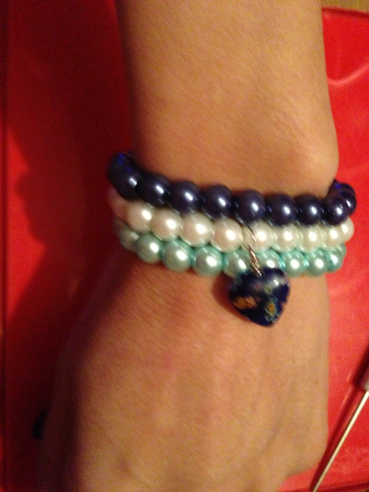 Pearl stackers! Look great stacked together.  Www.sparklesbysam.co.uk xxx