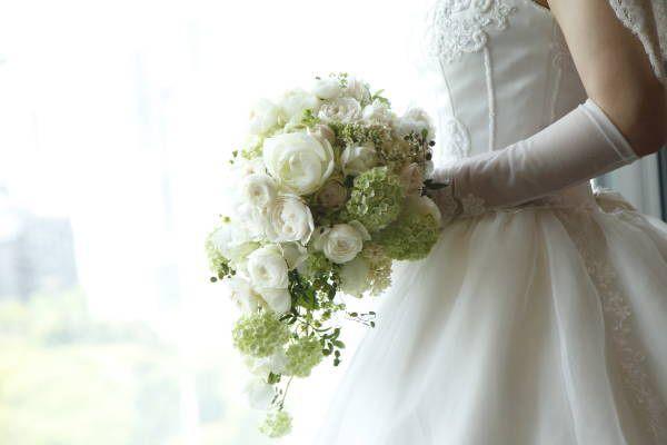 新郎新婦様からのメール アンティークと花 しかし花などどうでもいい 日比谷パレス様へ