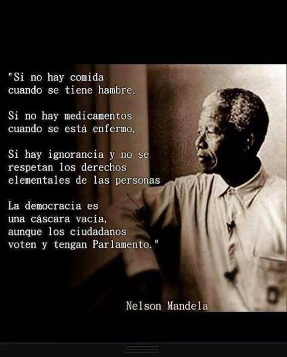 20 Frases de Nelson Mandela, NO, 20 Enseñanzas de vida. - Taringa!
