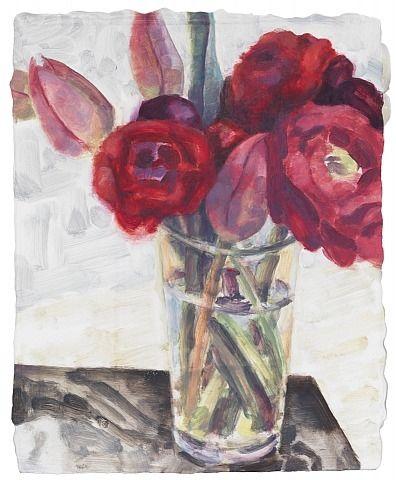 , Elizabeth Peyton: Flowers, Berlin