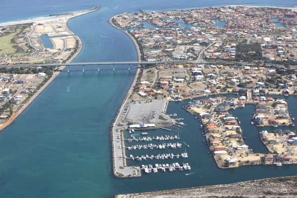 Dawesville is a suburb of Mandurah, and is located between the Harvey Estuary and the Indian Ocean. It is also home to the largest inland wa...