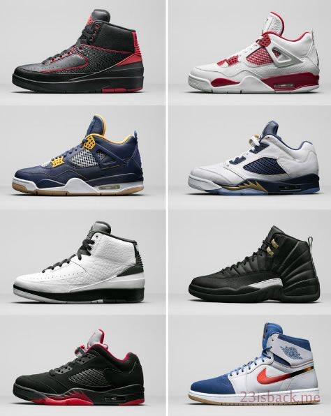23isback.me jordan brand 2016 releases Collections