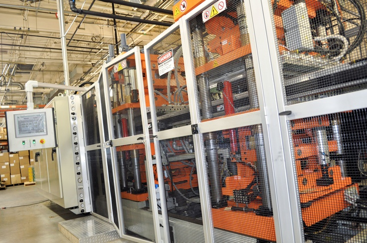 One of our state of the art thermoforming machines!