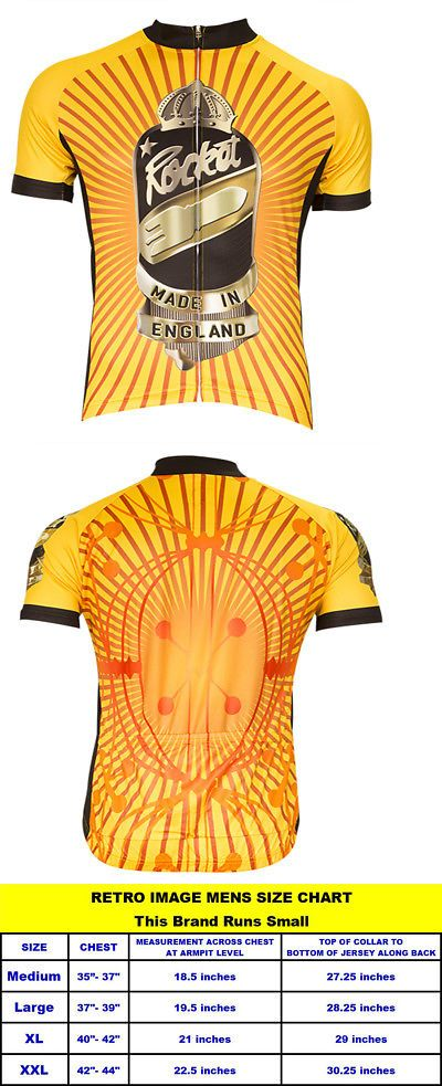 b3b5a50be Cycling Clothing 158990  Retro Image Rocket Cycling Jersey Mens Short  Sleeve New Runs Small Bike Bicycle -  BUY IT NOW ONLY   19.95 on eBay!