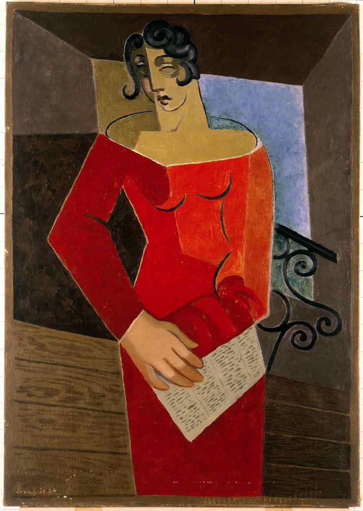 Juan Gris /  La Chanteuse / 1926. @designerwallace
