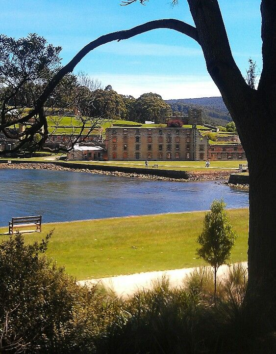 It is one of the famous historical site in tasmania, 'Port Arthur'