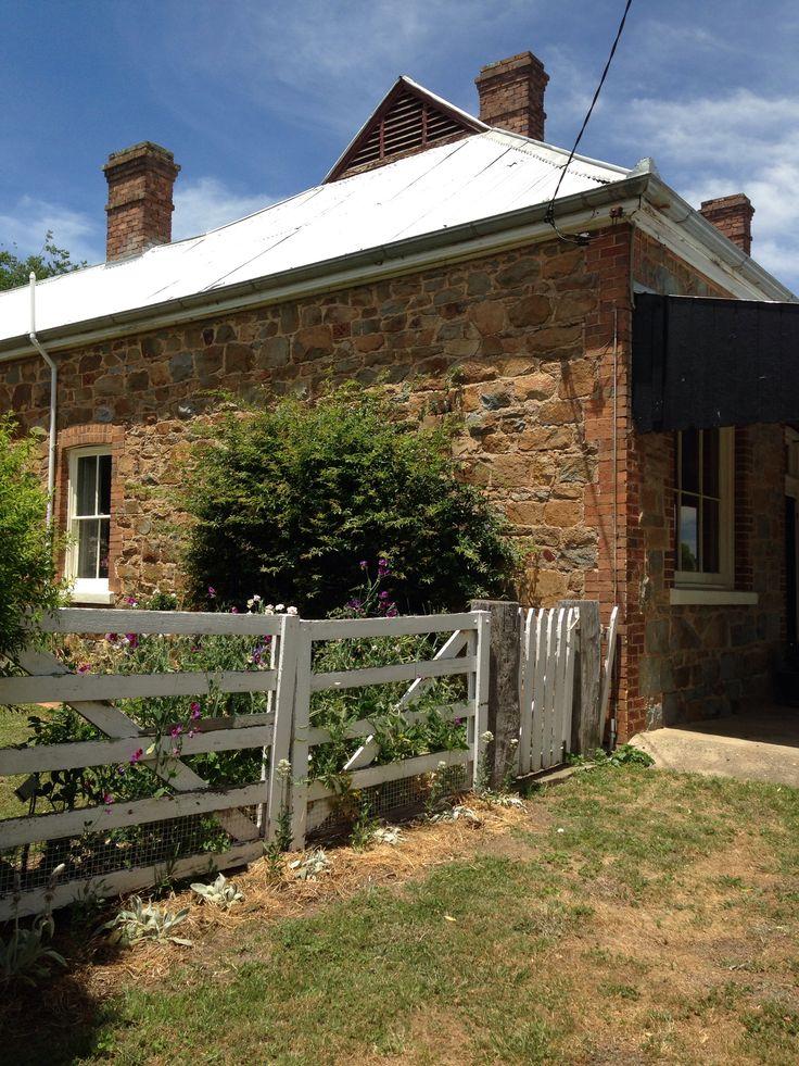 Stone cottage, Binda, NSW, Australia. Typical homestead. Turn of the century 1800s/1900s.