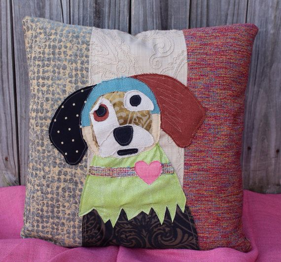 17 Best Images About Pillows On Pinterest Patchwork Dog