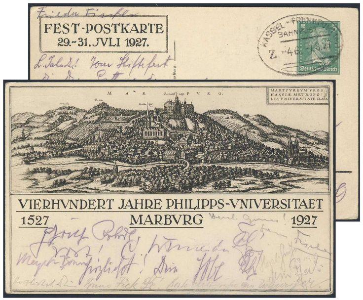 Unique Germany German Empire Jahre Philipps Universit t Marburg