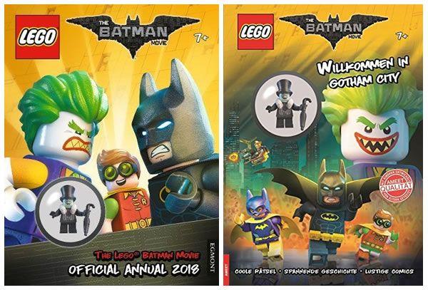 The LEGO Batman Movie Official Annual 2018, avec la minifig du Pingouin: Petite précision à l'attention de tous ceux qui comptaient… #LEGO
