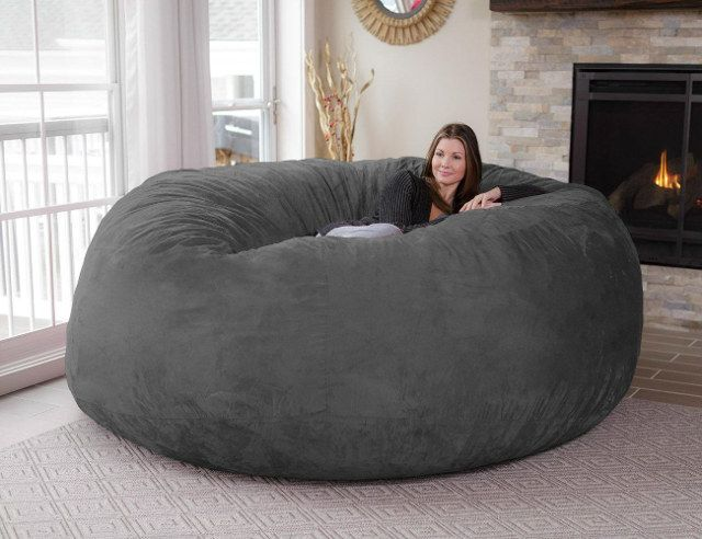 My Dorm Room Demands It: An 8-Foot Beanbag Chair