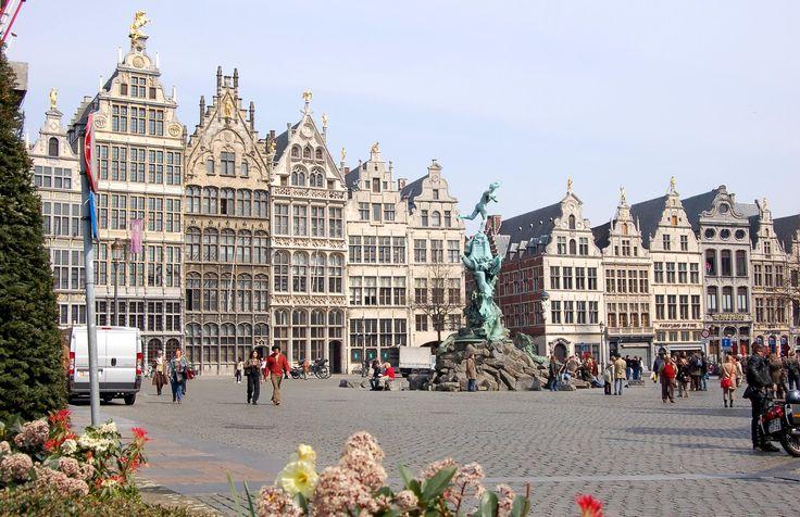 Town Center, Antwerp, Belgium - Vakantie foto!