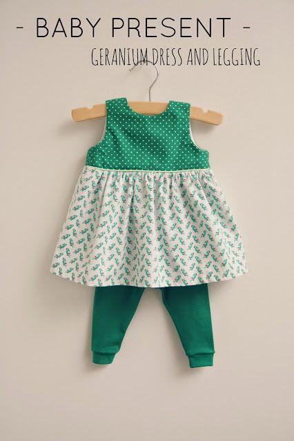 Baby present: Mini dress and legging
