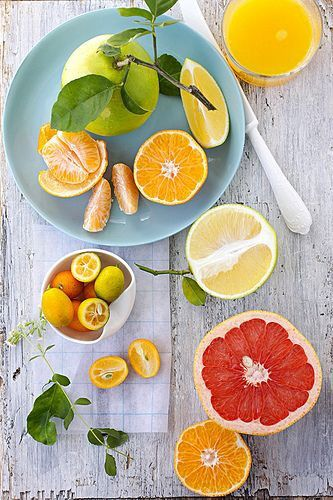 No whole food is ordinary! Meet the extraordinary citrus fruit!  Citrus fruits include oranges, lemons, limes and grapefruits, tangerines and pomelos. They earn their definition of an all-star food for their richness in flavonoids. Citrus fruit flavonoids have been shown to inhibit the growth of cancer cells and prevent the spread of tumors.  Citrus flavonoids are also antioxidants that neutralize free radicals and may protect against heart disease. #citrus #lemon #orange #benefits…
