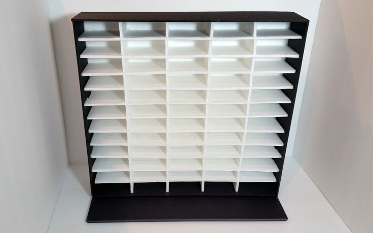 DIY Ink Pad Storage Unit