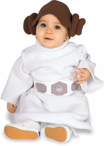 Star Wars Princess Leia Baby Costume Child Infant 6-12m