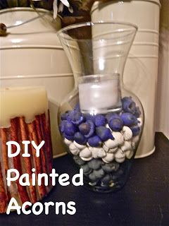Do It Yourself: Painted Acorns
