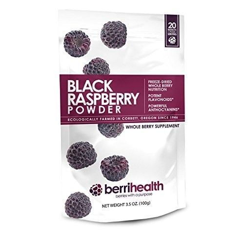BerriHealths-100-Gram-Black-Raspberry-Powder-New