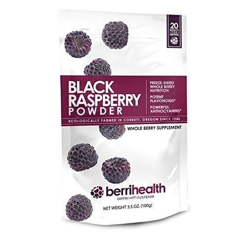 BerriHealths-100-Gram-Black-Raspberry-Powder-New