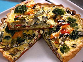 Receta: Santiago Giorgini/ Tarta vegetariana | Recetas | Utilisima.com