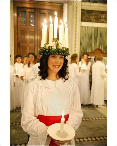 Photographic Print of Sankta Lucia candlelight service by the Swedish church in Westminster Cathedral from Prints Prints Prints by Prints Prints Prints, http://www.amazon.com/dp/B007ZTRPW0/ref=cm_sw_r_pi_dp_pNcHsb1TQ5QTG