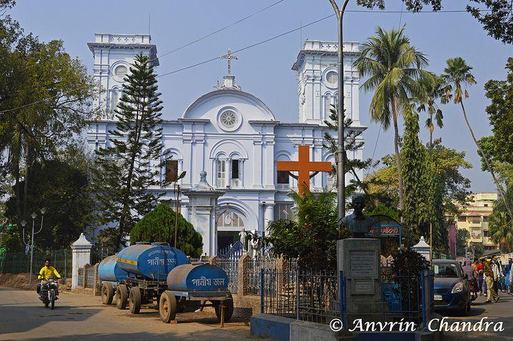 Chandannagar Church   by Indya Unrevealed ( A Lonely Traveller)