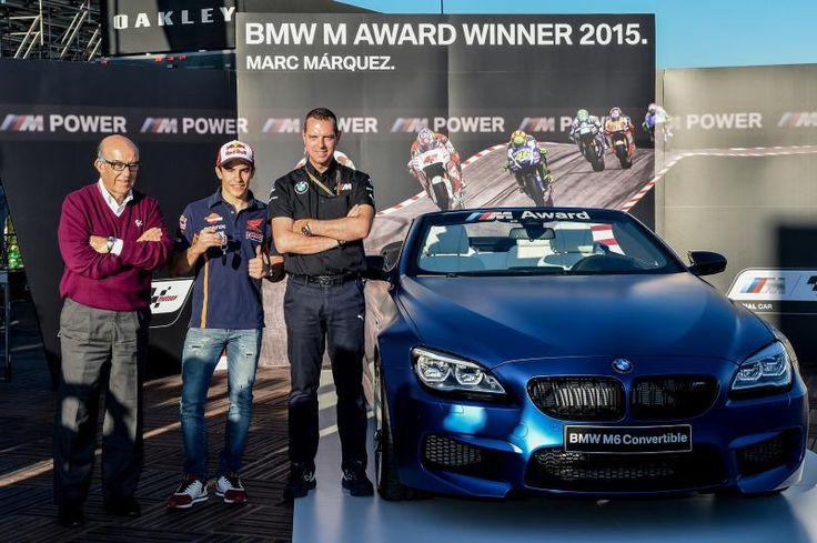O Prémio BMW M de 2015 vai para… Marc Márquez. O espanhol voltou a ser o piloto mais rápido em qualificação nesta época de MotoGP™ conquistando assim o cobiçado prémio pela terceira vez consecutiva...