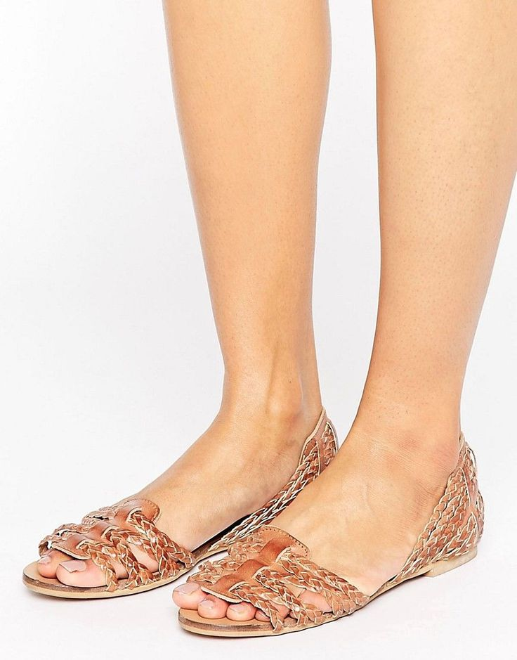 Oasis Leather Harache Sandal - Silver