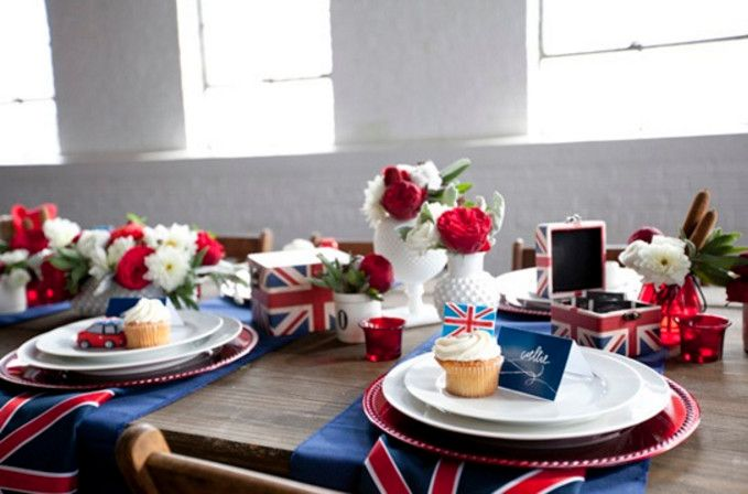 british themed tea party - British Themed Party Makes All the ...